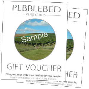 Pebblebed Gift Voucher for 2