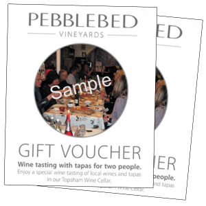 Pebblebed Gift Voucher 50