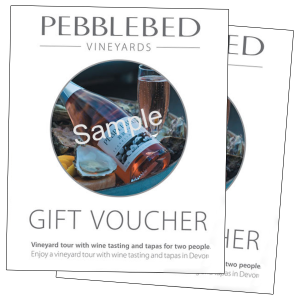 Pebblebed Gift Voucher £60